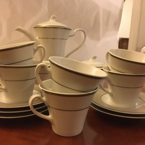 Λευκο σερβιτσιο καφε/τσαγιου HAUSMANN