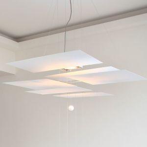 Oh Mei Ma Weiss Suspension Lamp Ingo Maurer