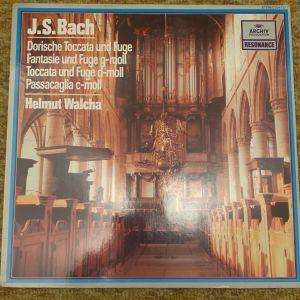J. S. Bach Archiv produktion mad ein West Germany