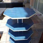 Επαγγελματικός πάγκος - ραφιερα ξύλινη