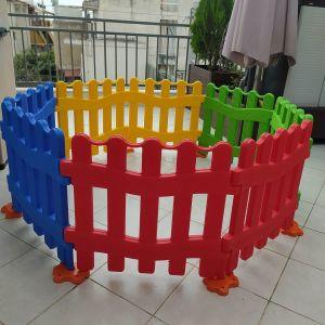 Πλαστικός φράχτης για παιδιά και παιδότοπους
