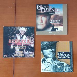 3   DVD   WESTERN.