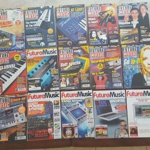 """Περιοδικά """"FUTURE MUSIC"""" + CD/DVD (UK edition) 22 τεύχη"""