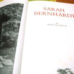 Sarah Bernhardt. Peter de Polnay