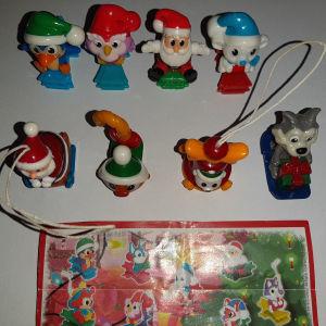 χριστουγεννιάτικες φιγούρες kinder