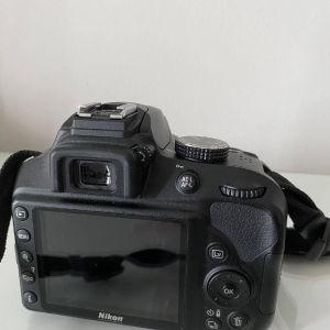 Nikon D3400 + Φακός AF-P DX Nikkor 18-55mm f/3.5-5.6G