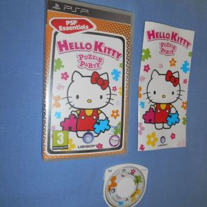 HELLO KITTY PUZZLE PARTY - PSP