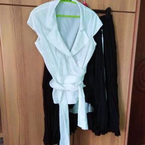 φούστα με πουκάμισο σετ
