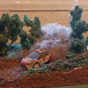 μακέτα WRC χωμάτινο