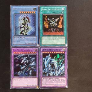 Dragon Master Knight Super Rare set 4 κάρτες