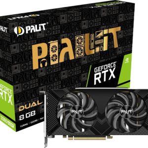 Κάρτα γραφικών GPU Palit GeForce RTX 2060 Super 8GB GDDR6 Dual PCIe