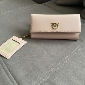 Wallet pinko leather pink