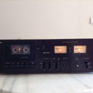 Philips N2537 Stereo Cassette Deck (Με πρόβλημα μηχανικό)