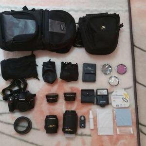 Nikon D3200 DSLR Big Kit
