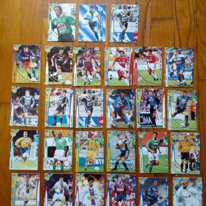 Χαρτάκια ποδοσφαίρου.