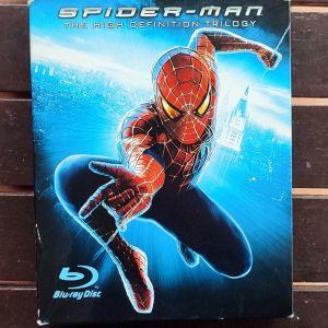 SPIDER-MAN TRILOGY BOXSET (1+2+3) (4 BLU-RAY DISC)