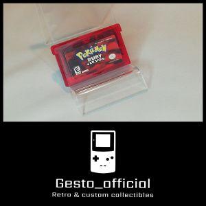 Pokemon Ruby Version Game Boy Advance Cartridge Gesto_official