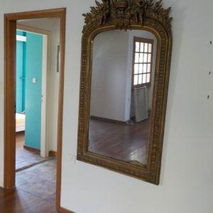 Μεγάλος ξυλόγλυπτος καθρέφτης παλιός