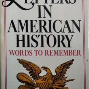 LETTERS IN AMERICAN HISTORY