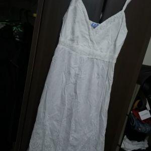φόρεμα τιραντα με κέντημα καινούργιο s/m