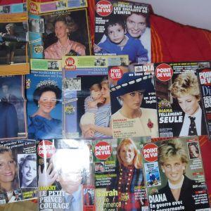 13 συλλεκτικά περιοδικά POINT DE VUE