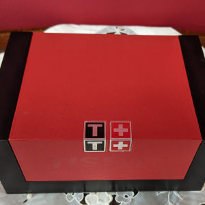 TISSOT PR C200 Chronograph Silver Stainless Steel Bracelet!