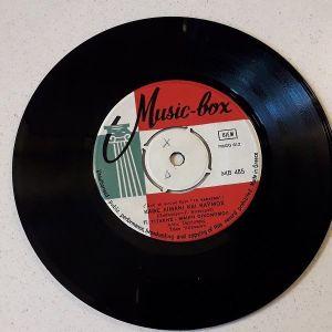 Vinyl record 45 - Παντελής Τιτάκης - Μαίρη Οικονόμου