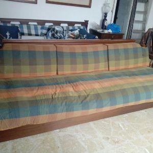 Καναπές ρουστικ μεγαλος