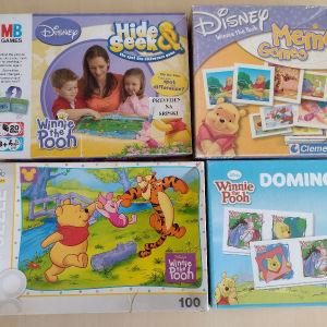 Διάφορα παιχνίδια προσχολικής ηλικίας