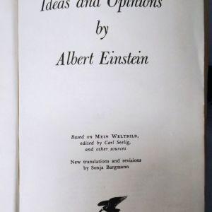Einstein ideas and opinions