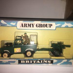 Britains Deetail LTD Τζιπ Στρατιωτακια