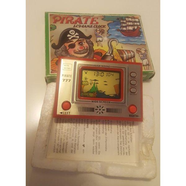 sillektiko Vintage ilektroniko pechnidi Pirate 777 - Sun Wing - Lcd Game (dekaetia 1980 - retro/spanio)