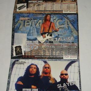 Metal Ημερολόγιο 2008