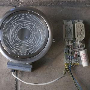 Φωτιστικό Χωνευτό Οροφής PL 2 x 26W Λάμπες Φθορισμού