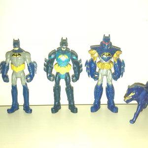 Φιγουρες Batman & Blade Wolf (Mattel, 2013 - 2014)