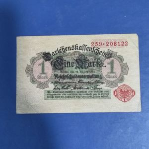 ΓΕΡΜΑΝΙΑ 1 ΜΑΡΚ 1914