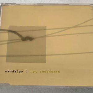 Mandalay - Not seventeen 1-trk cd single