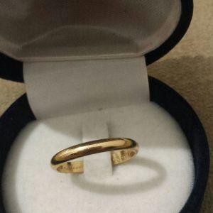 Χρυσό δαχτυλίδι 18κ