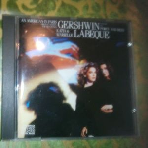 CD AN AMERICAN IN PARIS-GERSHWIN-KATIA-MARIELLE LABEQUE-ORIGINAL VERSION FOR TWO PIANOS