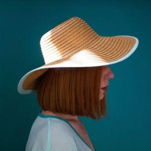 Ψάθινο Καλοκαιρινό Καπέλο - Μέντα