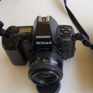 Nikon AF 801 με φακο 35-70mm.