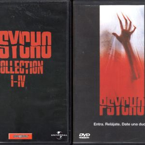 THE PSYCHO COLLECTION DVD