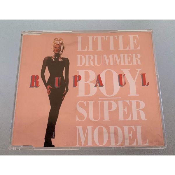 Rupaul - Little drummer boy/Supermodel 4-trk cd single