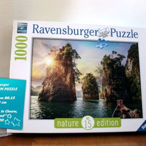 "Ravensburger Puzzle/Παζλ με 1000 κομμάτια: Nature Edition No.15 ""Three Rocks in Cheow, Thailand"""