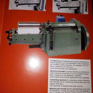 Αλειφτική μηχανή γερμανικής κόλλας (βενζινόκολλας) Besser OBE 9 για υποδηματοποιία