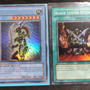 Black Luster Soldier Ultra Rare+ Black Luster Ritual Super Rare