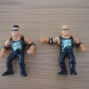Nasty Boys tag team φιγούρες WWF γίγαντες του κατς