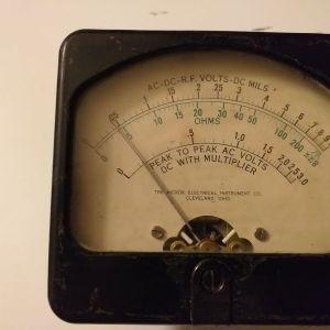 Αναλογικο όργανο μετρησης