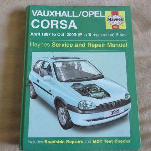 OPEL CORSA Haynes Service and repair Manual