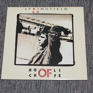 RICK SPRINGFIELD - ROCK OF LIFE 1988 MADE IN GREECE